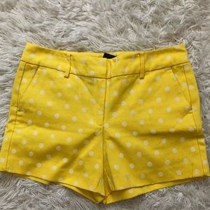 yellow short from ANN TAYLOR 💕
